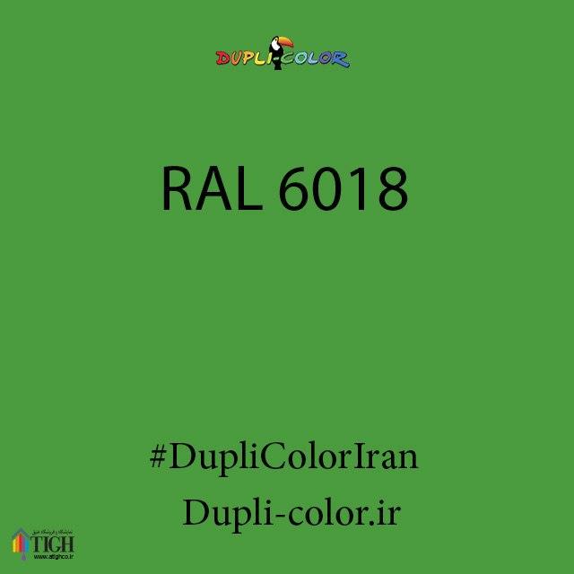 اسپری رال 6018 دوپلی کالر