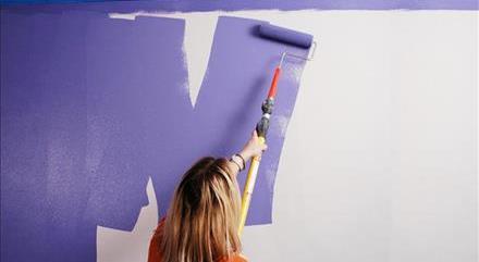 آموزش ترفندهای رنگ کردن دیوار با غلطک به آسانی!