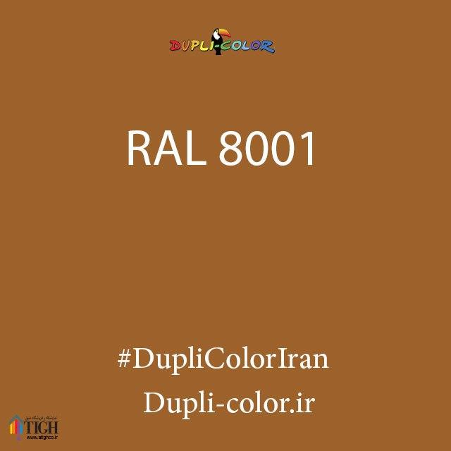 اسپری رال 8001 دوپلی کالر